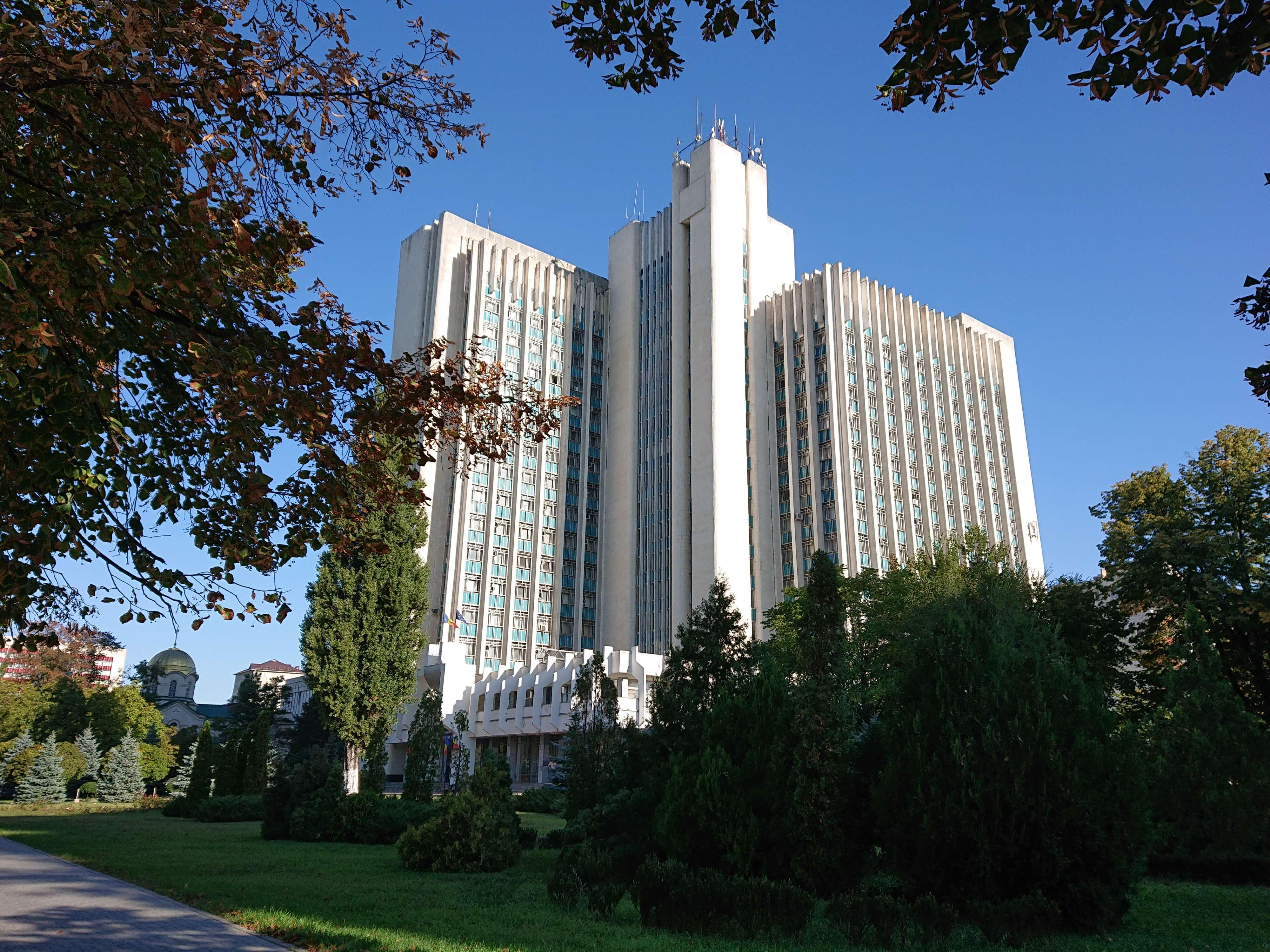 Building of CNEJ (Moldova) 2018